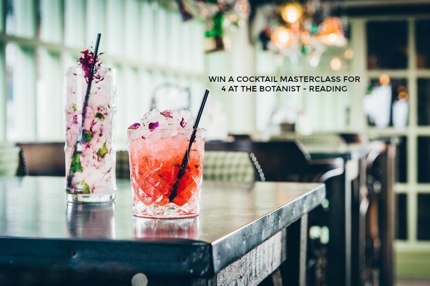 The Botanist Reading cocktail masterclass