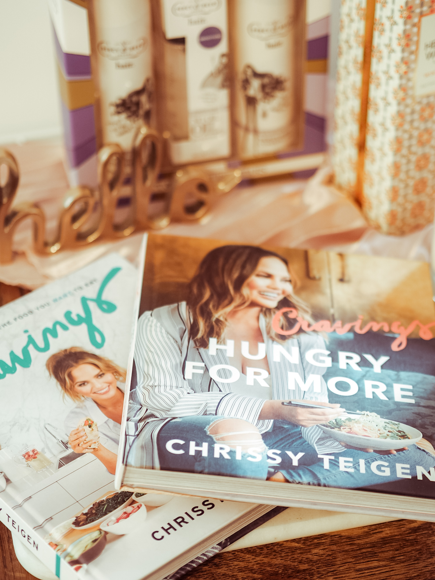 Chrissy Teigen Cravings and Hungry for more books - LemonaidLies