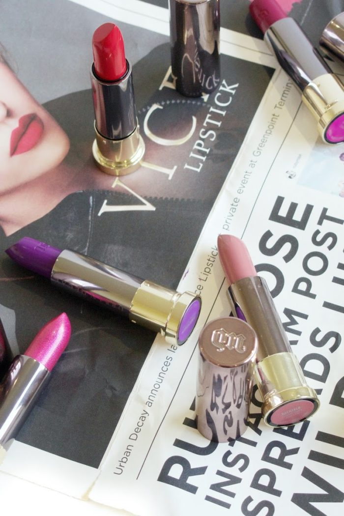 Urban Decay #LipstickIsMyVice let's find yours!