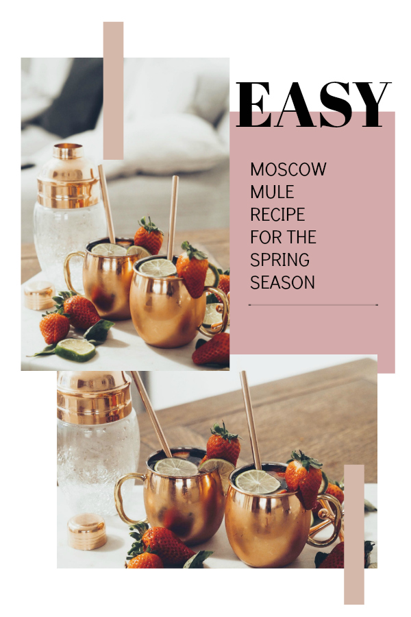 Jump right into spring and make yourself this easy Strawberry, Lime and basil Moscow Mule. This easy to follow and quick to make recipe is sure to be a summer staple at partiers and gathering and is beyond delicious too.