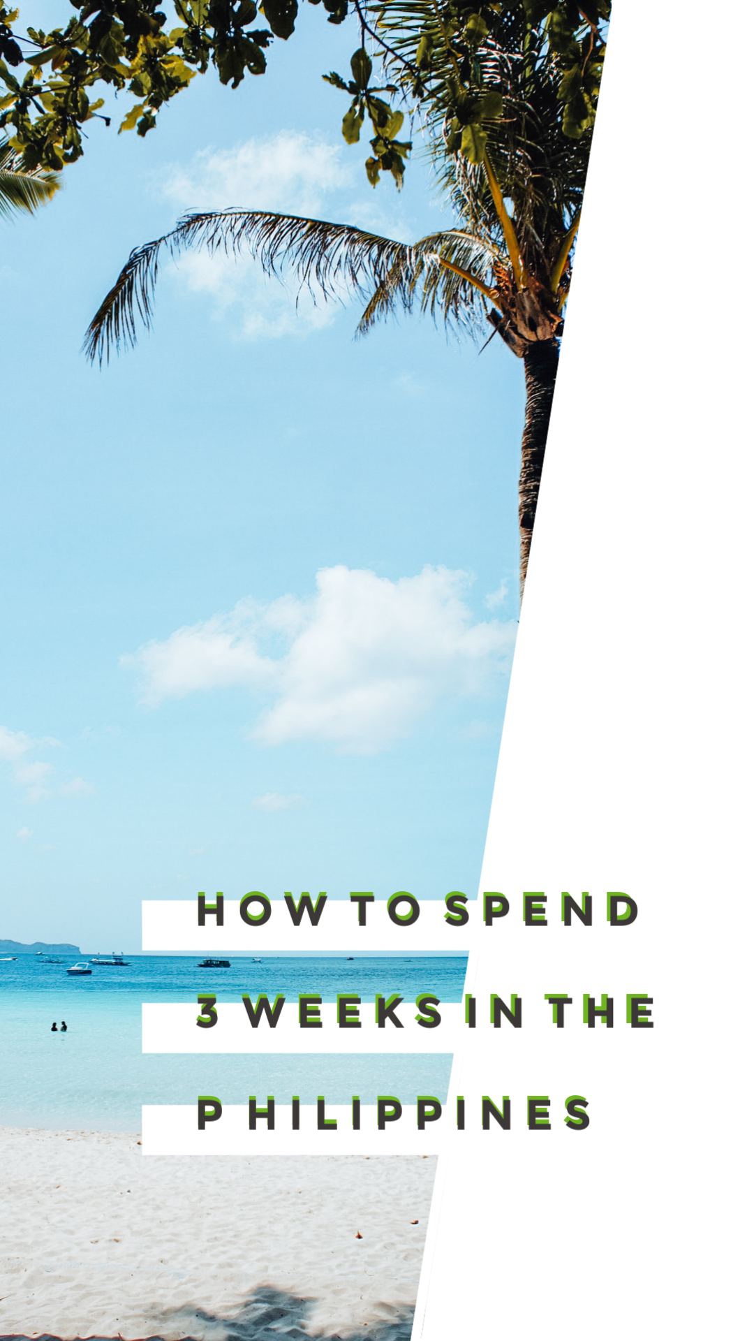 How to spend 3 weeks in the Philippines