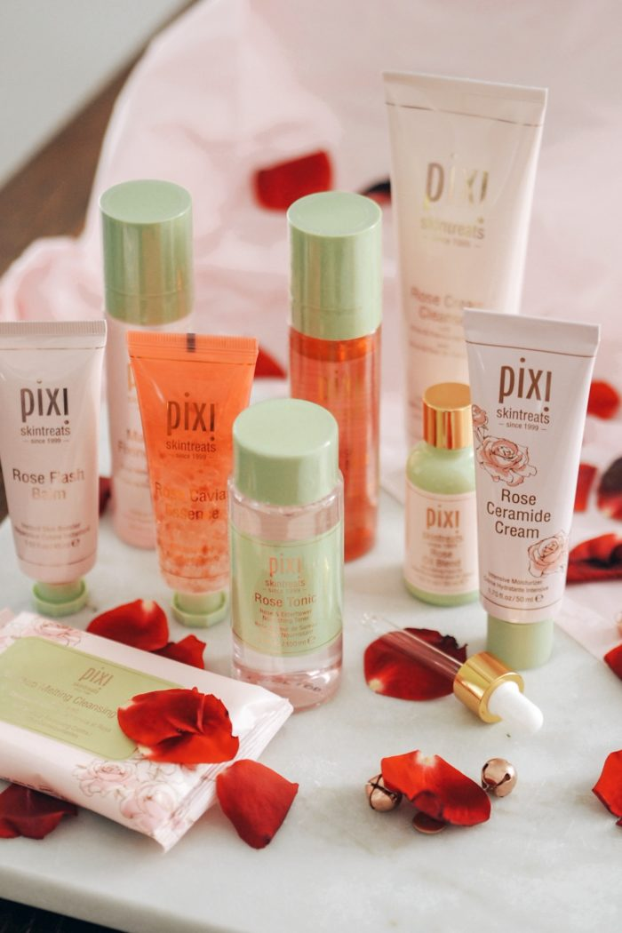 9 Steps to that rosy glow with Pixi Beauty