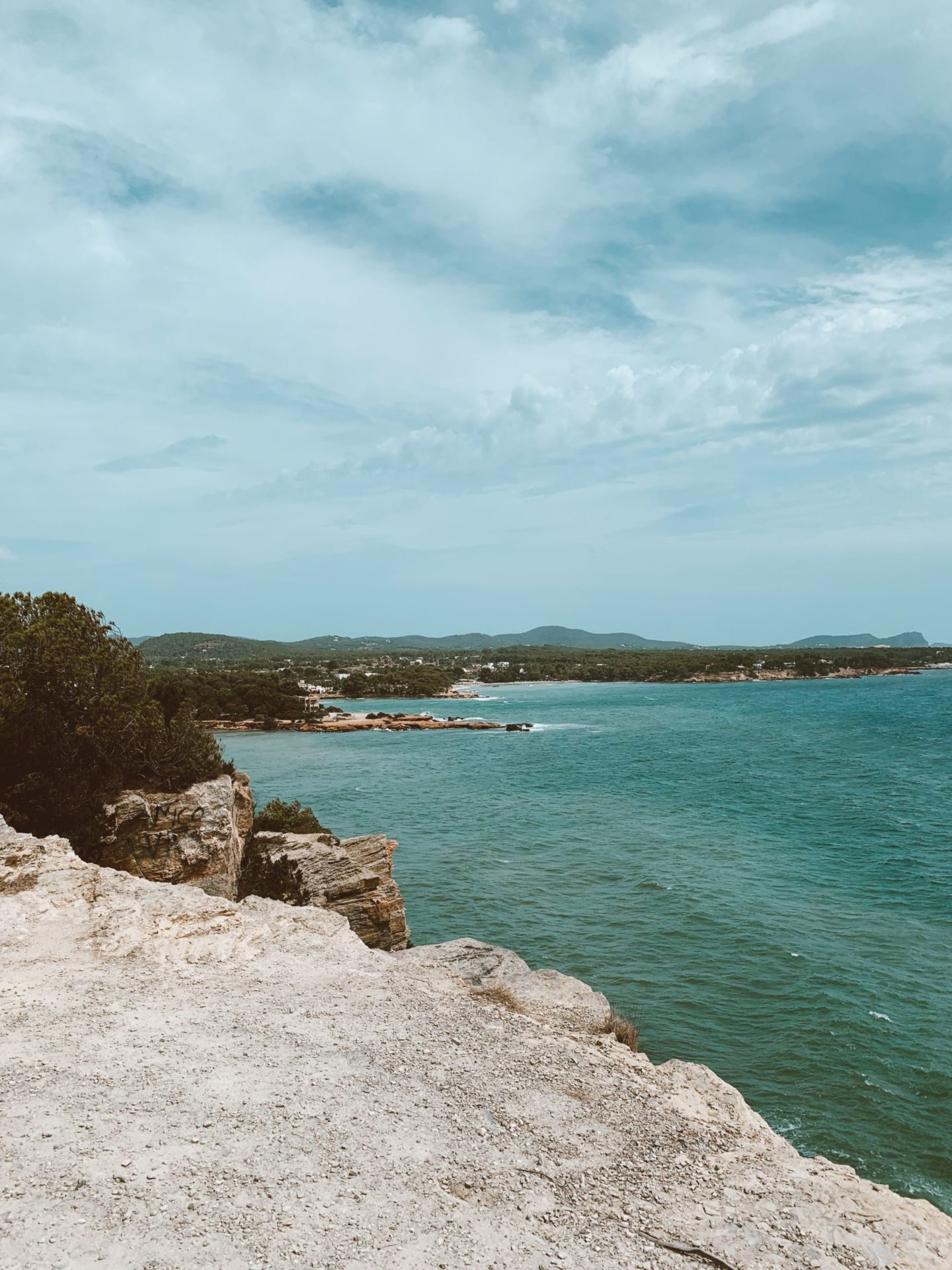 view of the ocean in Ibiza