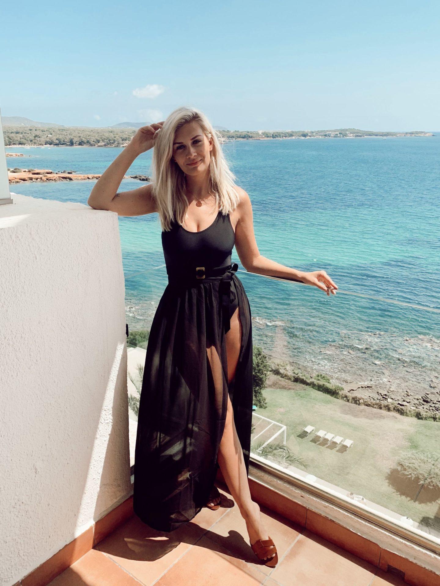 Girl in Ibiza