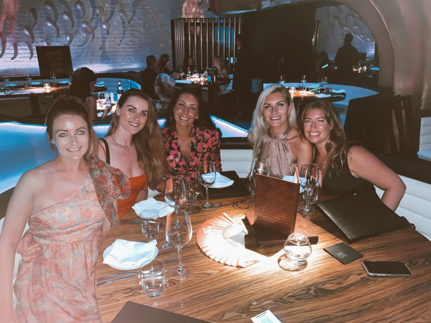 Girls in STK Ibiza